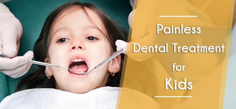 Painless Dentistry For Kids in Nerul